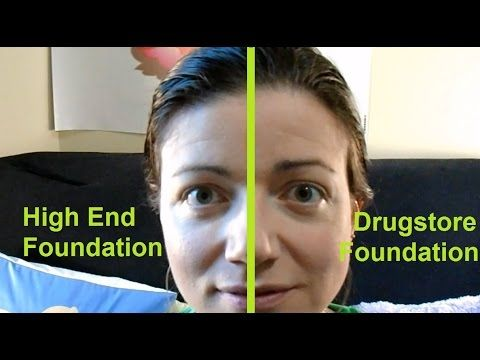rosacea makeup drugstore vs high end brand foundation. Black Bedroom Furniture Sets. Home Design Ideas