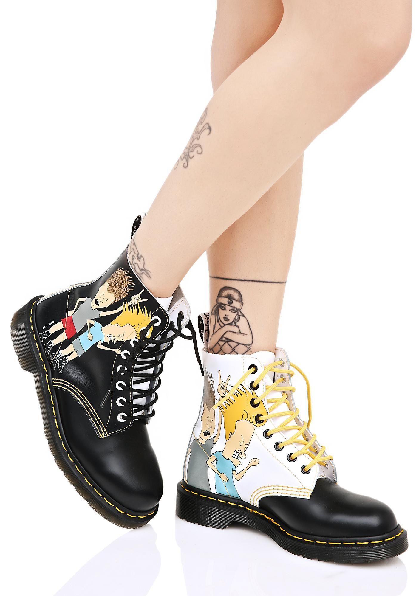 Beavis & Butthead Pascal 8 Eye Boots   Damas y Quiero