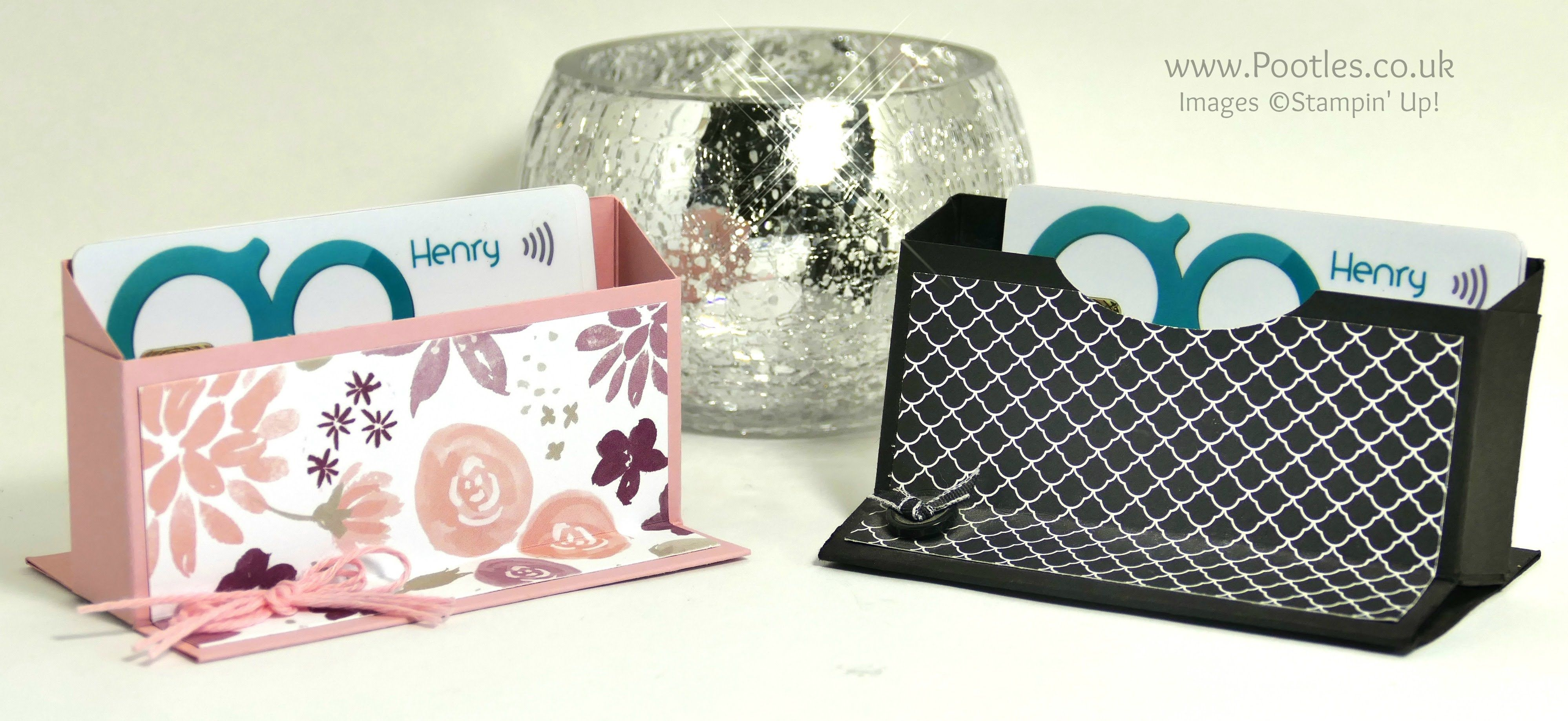 Pootles Way Back Wednesday Business Card Holder Business Card Holders Diy Gift Card Cards