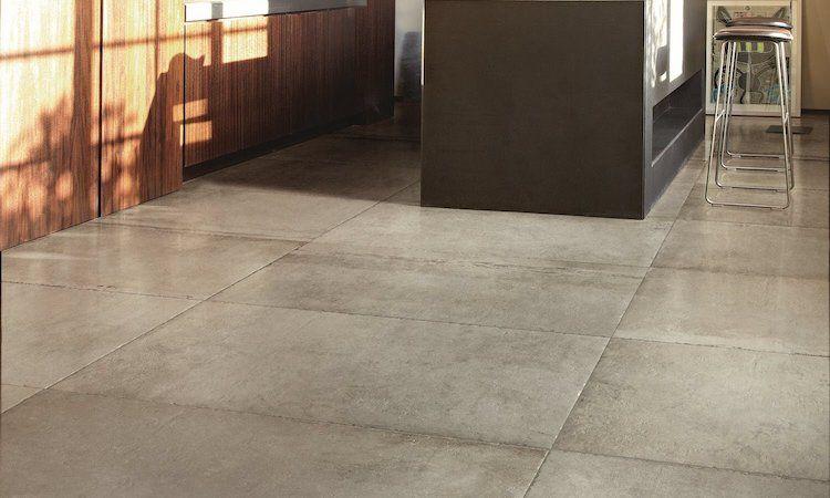 Vloerbedekking Met Motief : Betonlook met keramische tegels product in beeld startpagina