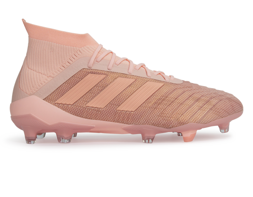 ee1ad2114ae adidas Men s Predator 18.1 FG Clear Orange Trace Pink