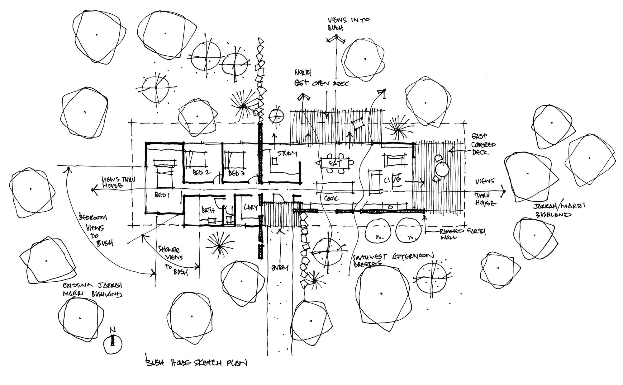 medium resolution of image 24 of 28 from gallery of bush house archterra architects croquis floor plan