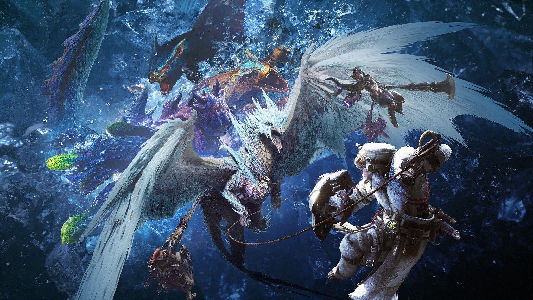 Official Monster Hunter World Iceborne Art Monster Hunter World Wallpaper Monster Hunter World Monster Hunter