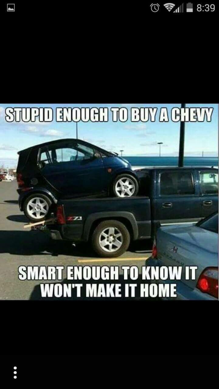 Chevy Quotes Pineric Maheux On Ford Stuff  Pinterest  Ford Car Humor And