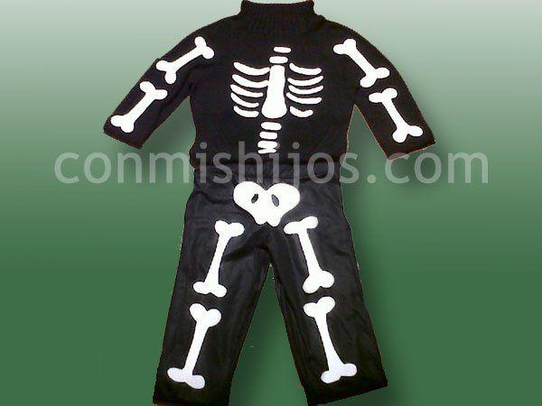 Disfraz de esqueleto - votaDIY Disfraz de esqueleto, Disfrac