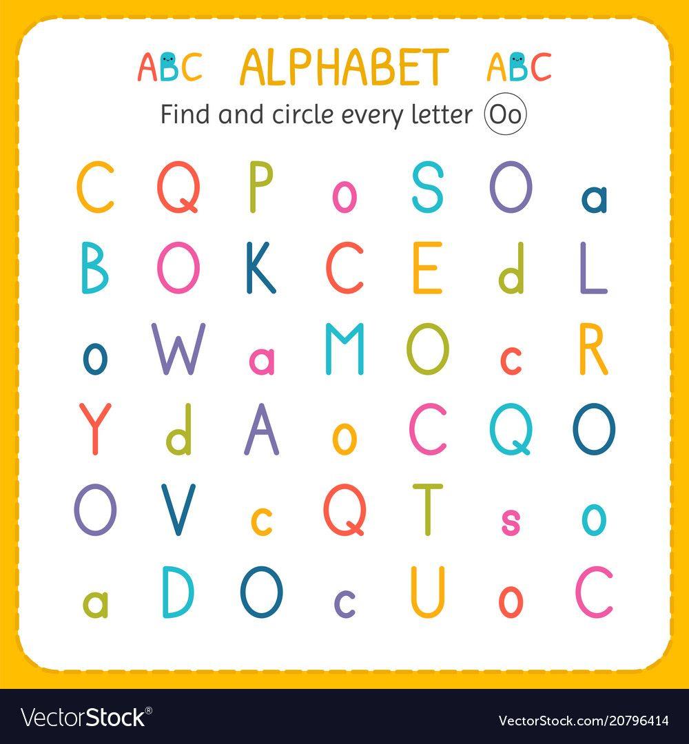Find And Circle Every Letter O Worksheet For Kindergarten And Preschool Exercises For Children Vecto Letter O Worksheets Lettering Cursive Letters Worksheet [ 1080 x 1000 Pixel ]