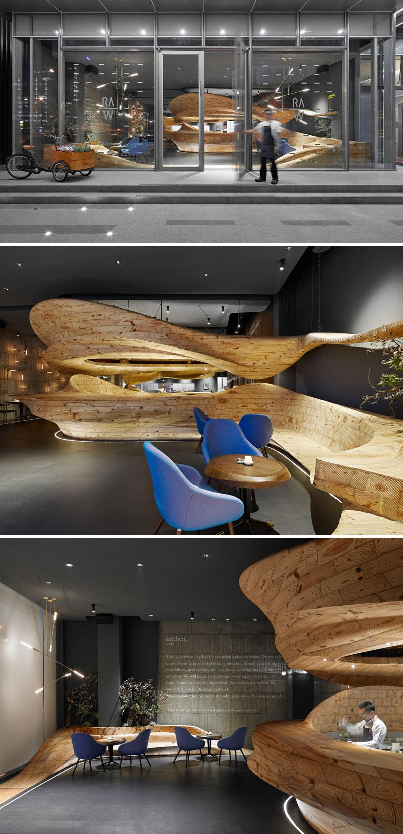 Architecture firm WEIJENBERG have worked together with Chef André ...