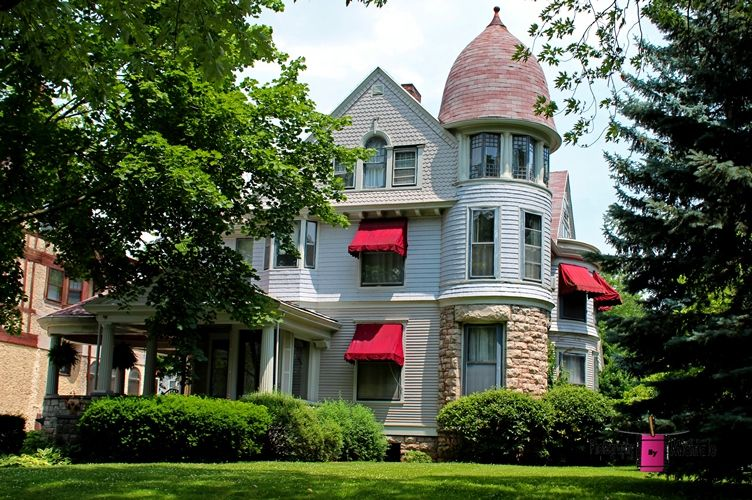 Old West End Toledo Ohio Building Historic Title Old West End White 7 American Mansions Victorian Homes Grand Homes