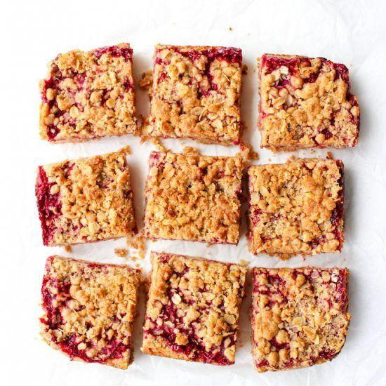 Raspberry Crumble Bars | foodgawker » gluten free | foodgawker | Bloglovin'