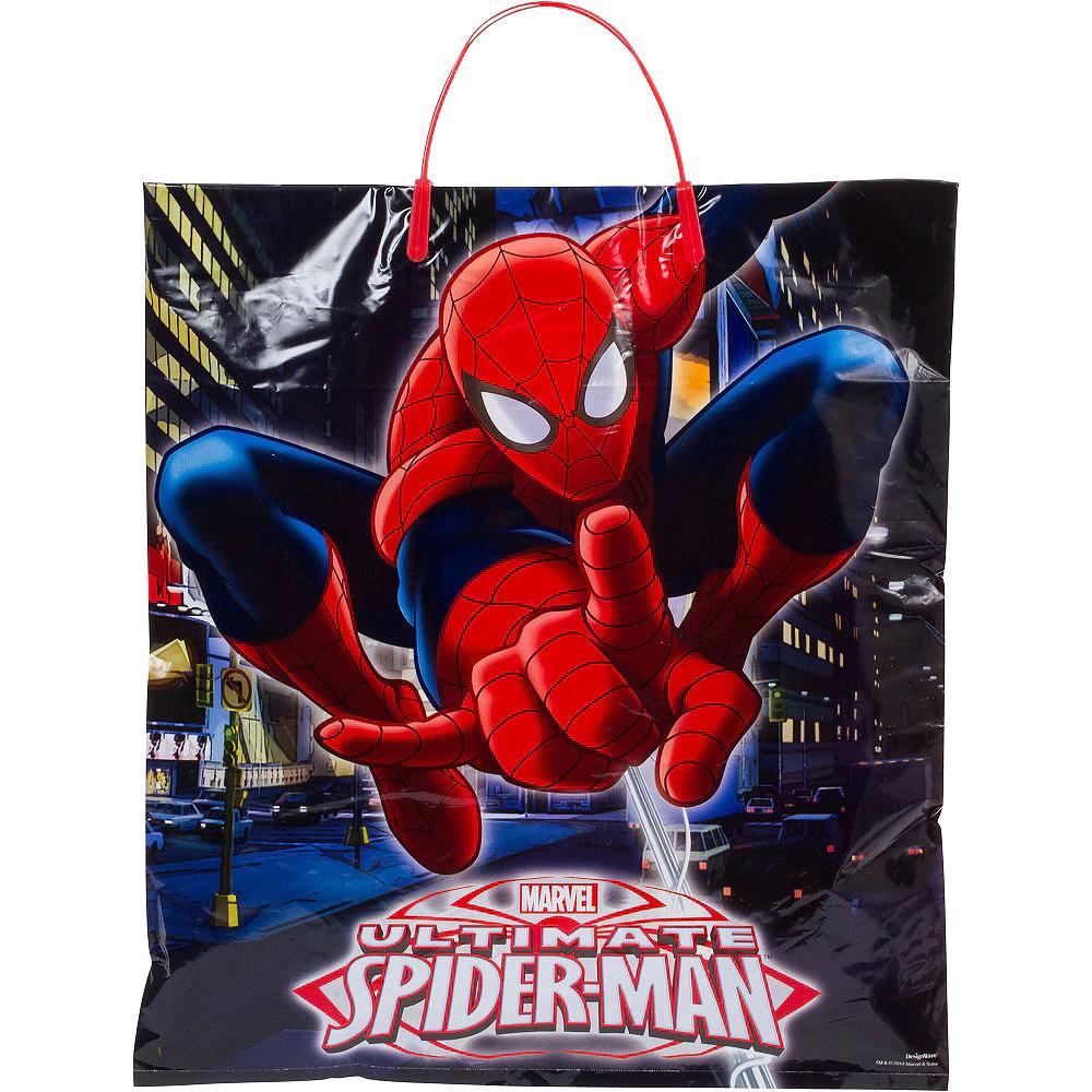SpiderMan Trick or Treat Bag 14in x 16in Halloween