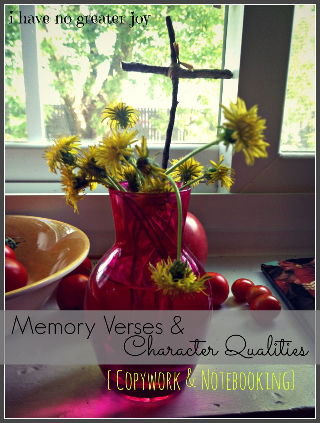 Memory Verses Character Building Notebooking Pages