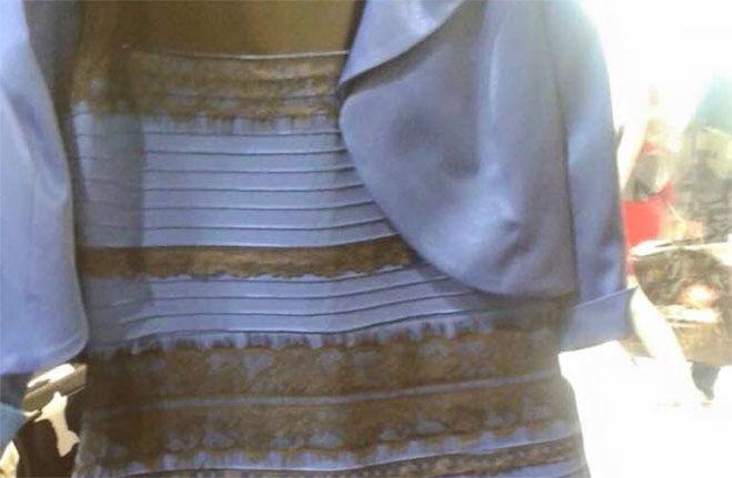 De Qué Color Ves Este Vestido Misterio De Los Colores Del