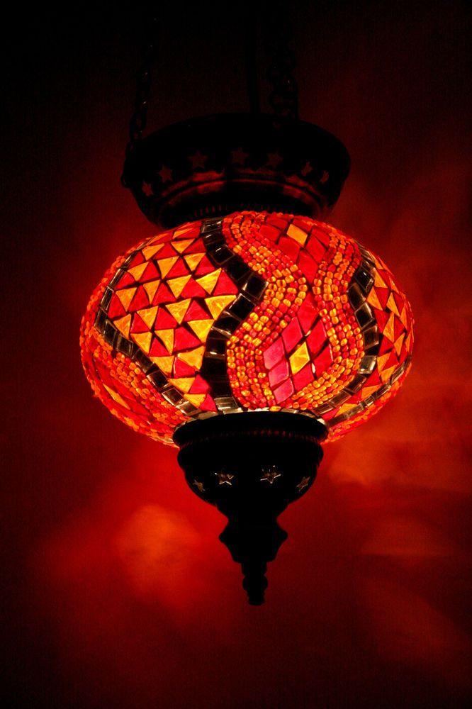 LARGE TURKISH MOROCCAN MOSAIC HANGING LAMP SHADE PENDANT LANTERN XMAS GIFT  · Outdoor String LightingString ...