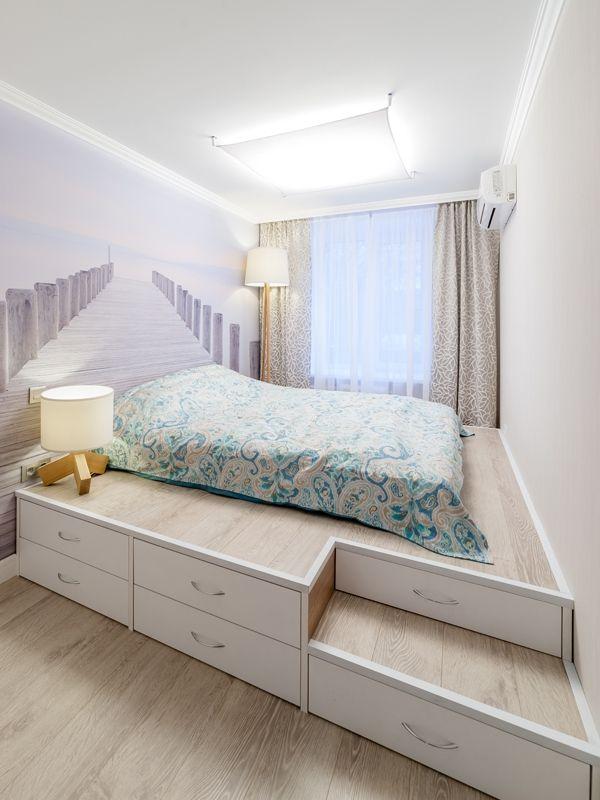 Platform Bed Bedroom Sets: Functional Podium Bed For Now: I Would Put The Bed UNDER
