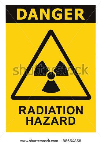 Radiation Hazard Symbol Sign Of Radhaz Threat Alert Icon Black