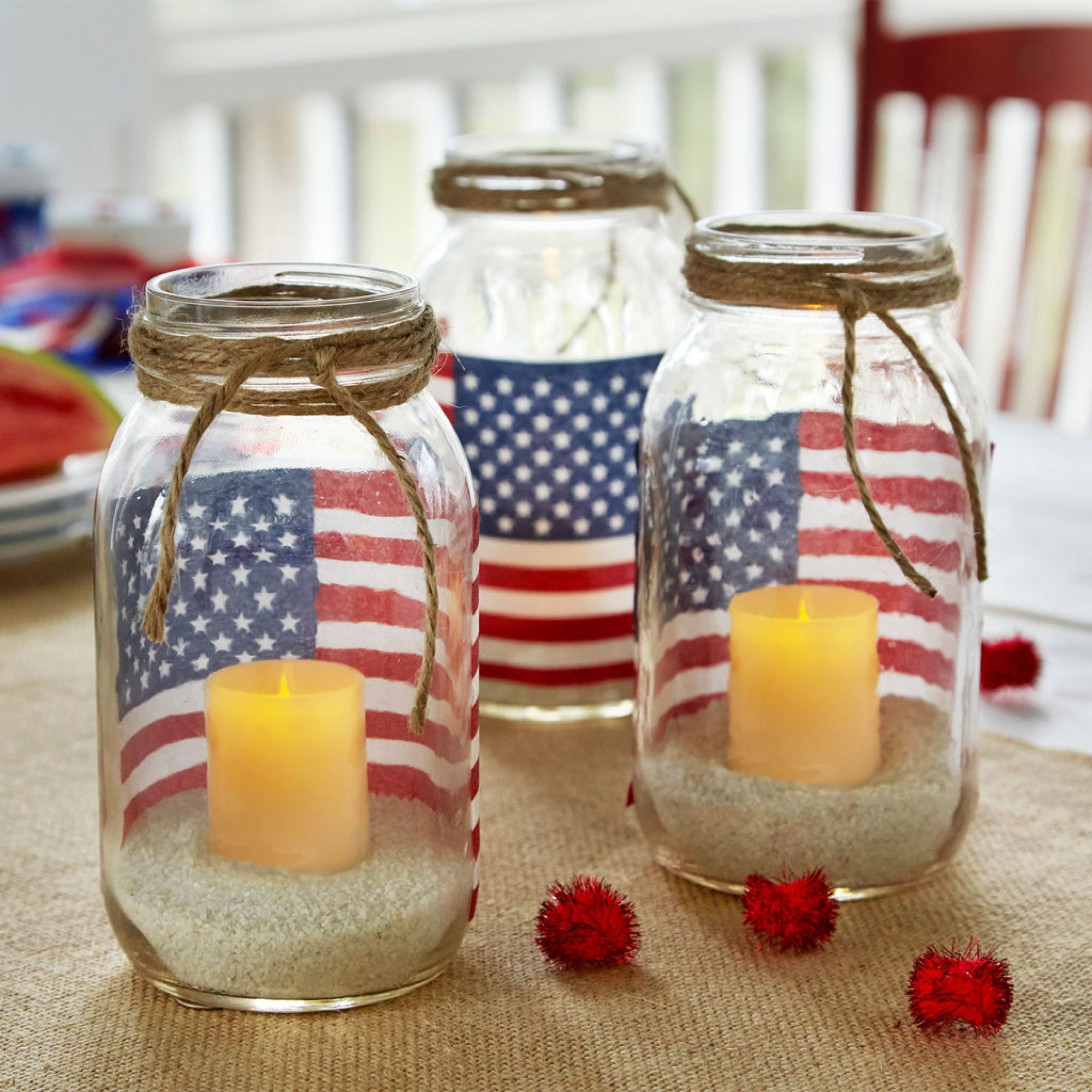 American flag mason jar votive holders my ultimate gratitude