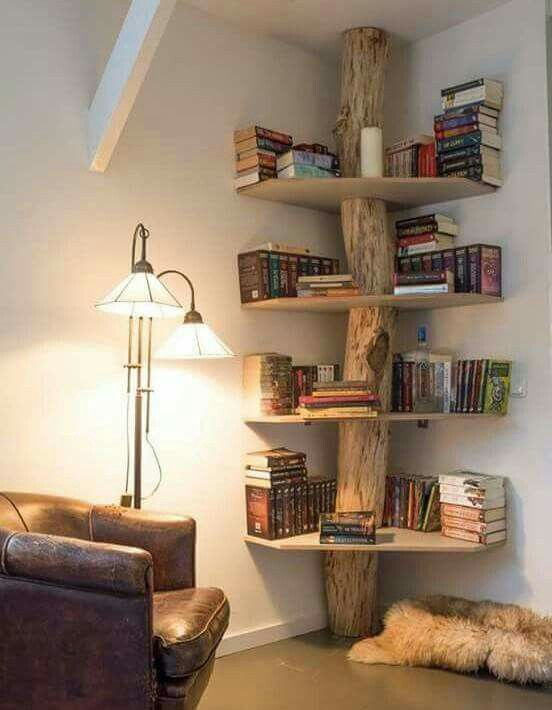 Coolest bookshelf ever Home Decor  Style Pinterest Isaiah 11 - küche selber bauen holz
