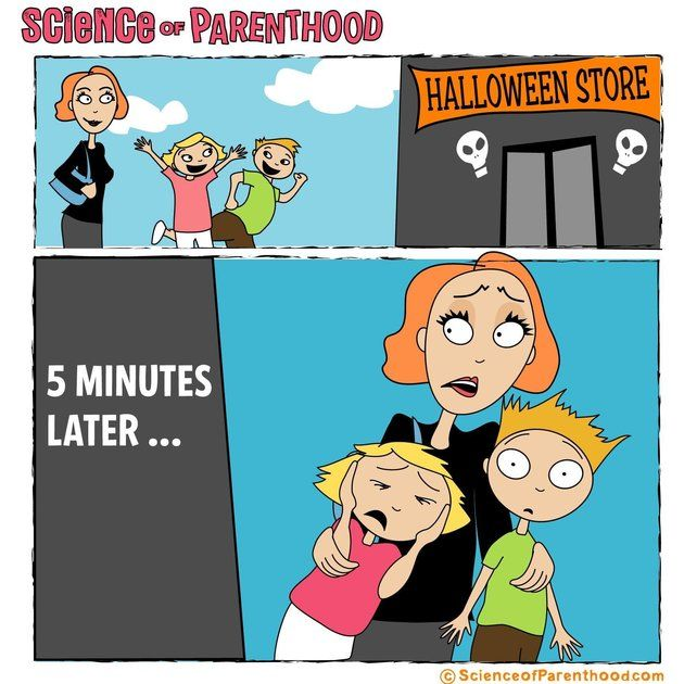 20 Comics That Sum Up Halloween For Parents | Huffington Post