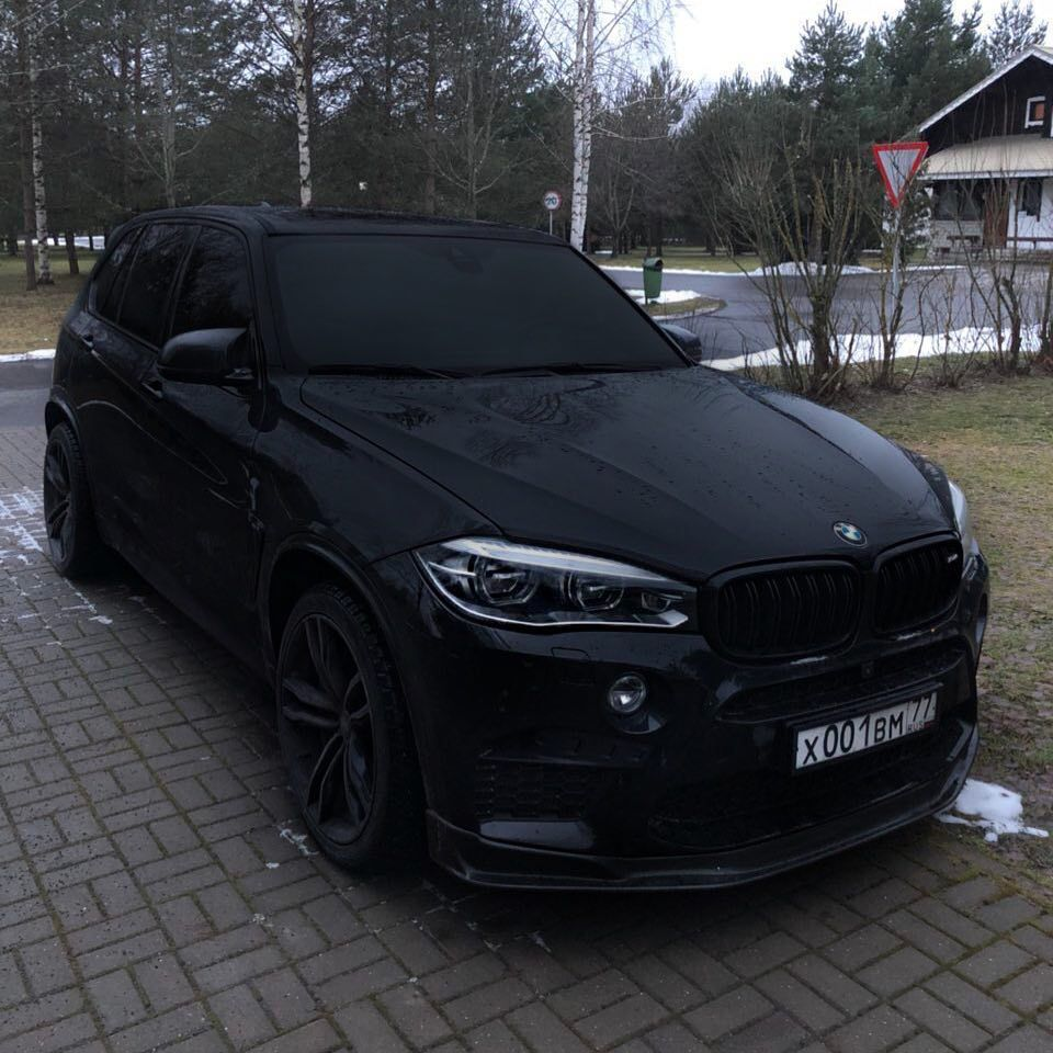 Bmw X5 2019 Black Edition
