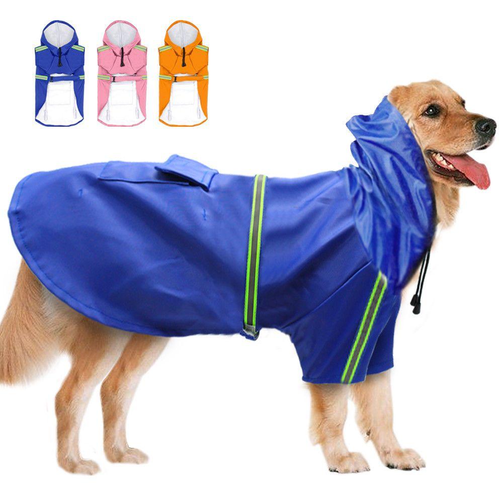 14 99 Waterproof Big Dog Rain Coats Reflective Rain Gear Jacket