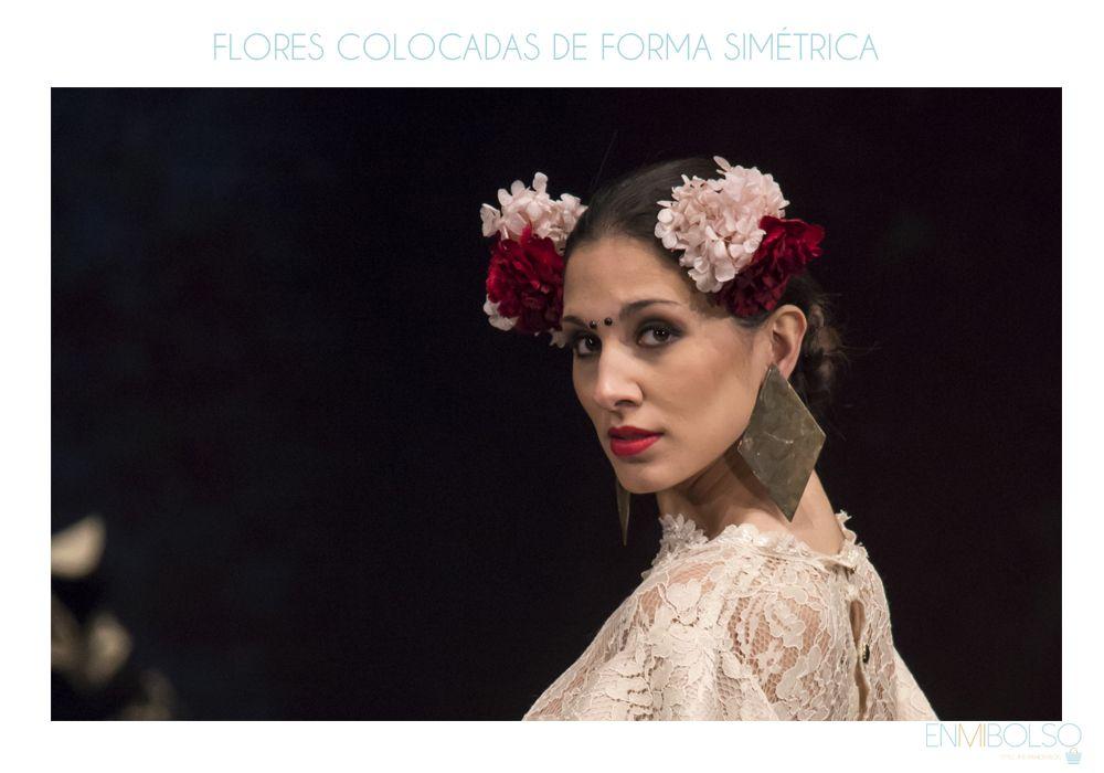 Simple y con estilo peinados feria Imagen de estilo de color de pelo - peinado-feria-2017-simetrico   Moda Flamenca   Peinado ...