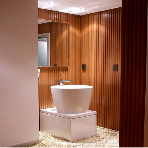 Bathroom Wood Plastic Wall Panels For Sale ,advantages To A Wpc Wall Paneling #eco #durable #wall #pane… | Bathroom Wall Panels, Wall Paneling, Plastic Wall Panels