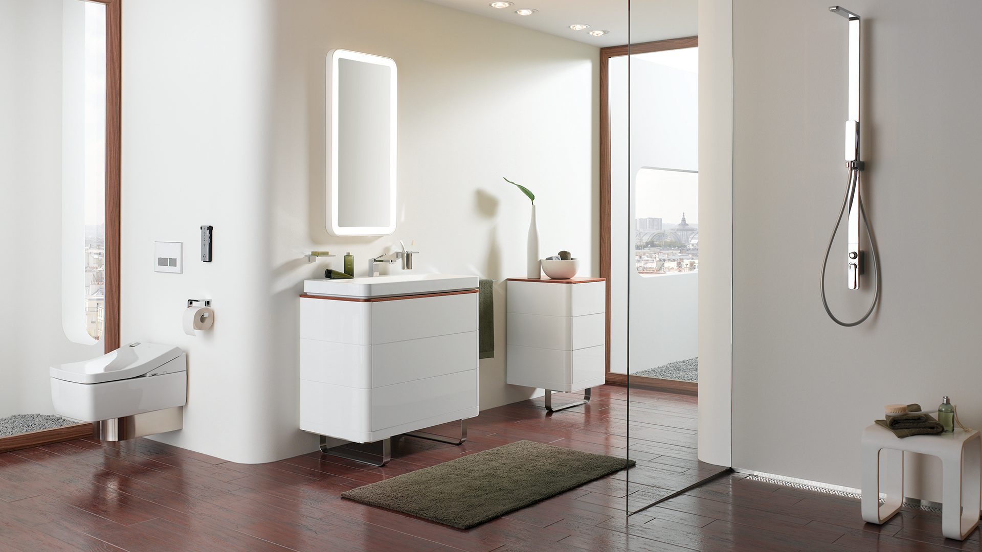 A spectacular TOTO bathroom the brand synonymous with