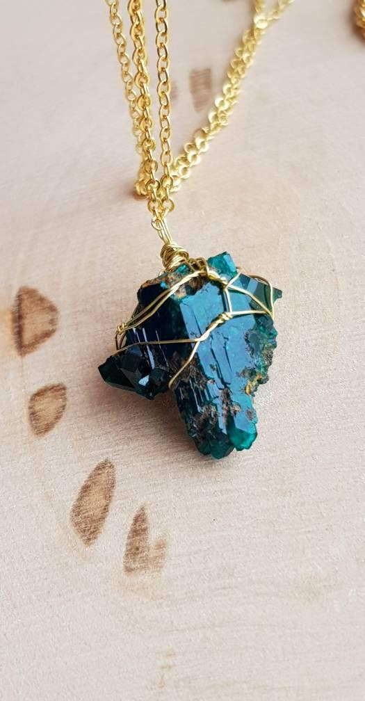 Dioptase necklace dioptase pendant dioptase jewelry raw dioptase dioptase necklace dioptase pendant dioptase jewelry raw dioptase crystal green gemstone necklace unisex gift for husband gift for wife gift emeralds aloadofball Gallery
