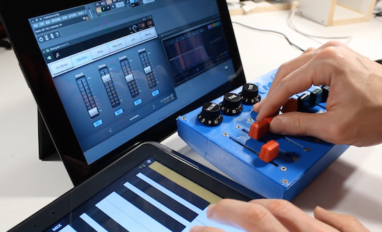 Arduino Blog – Turn an old mixer into a MIDI input fader with