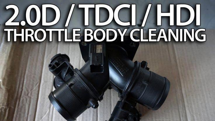 Drosselklappengehäuse in 2.0D HDi TDCi 136PS reinigen Diesel ...  - mr-fix - - Wie Drosselklappeng
