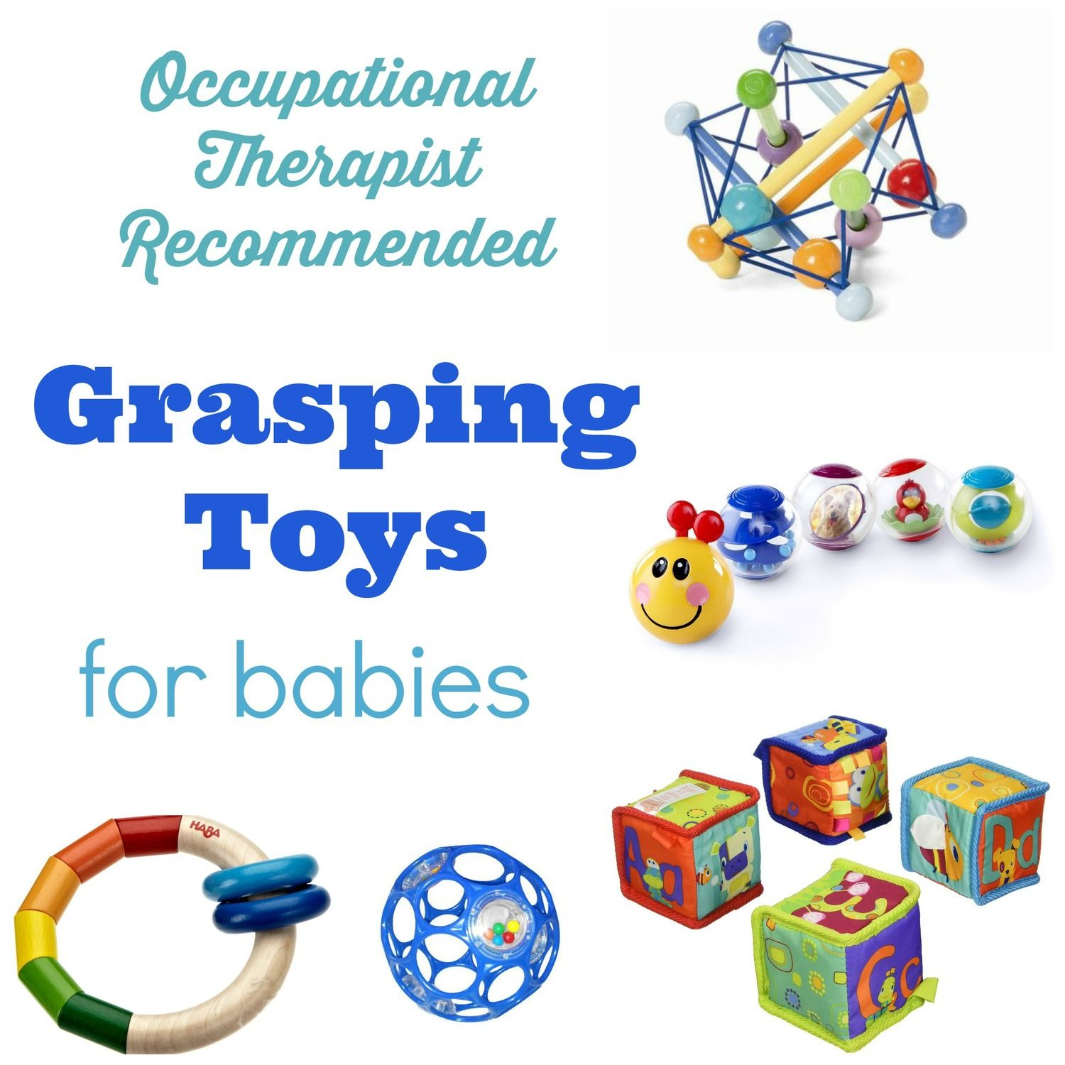 Simple Grasping Play for 3 6 Month Olds