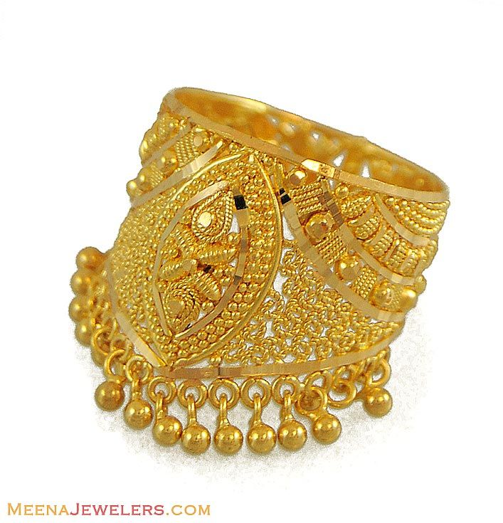 Indian rings | Indian Gold Ring (22 Karat) - RiLg9024 - 22Kt Gold ...