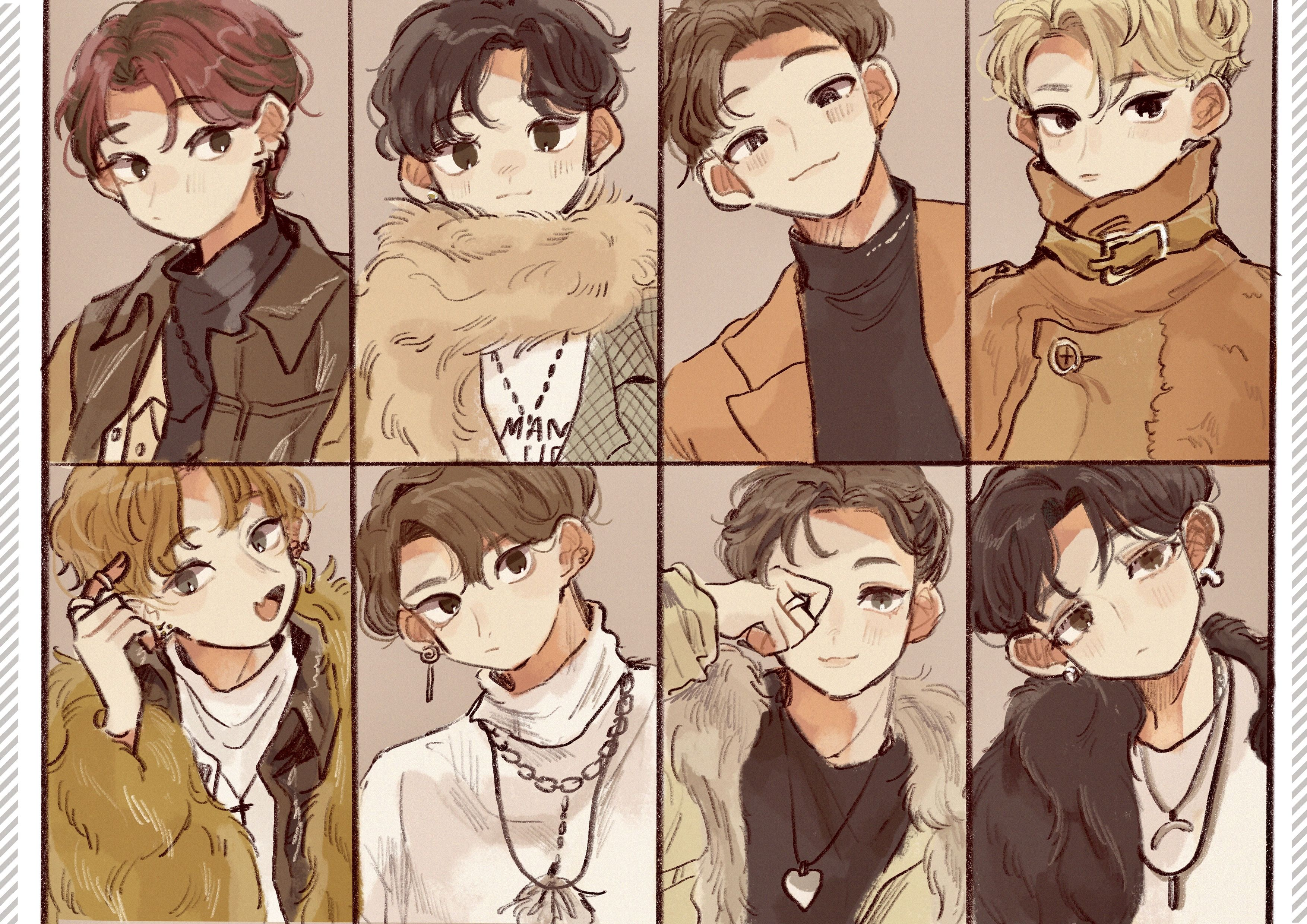 M On Twitter Kpop Fanart Cute Art Boy Art