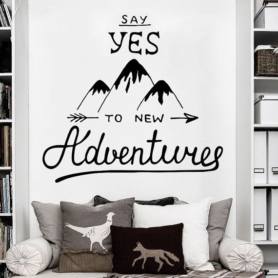 Explorer Travel Adventure Wall Decal Art Decor Sticker Quotes Adventure Sticker Adventure Decal Travel Gifts Wall Decor Stickers Travel Wall Art Sticker Decor