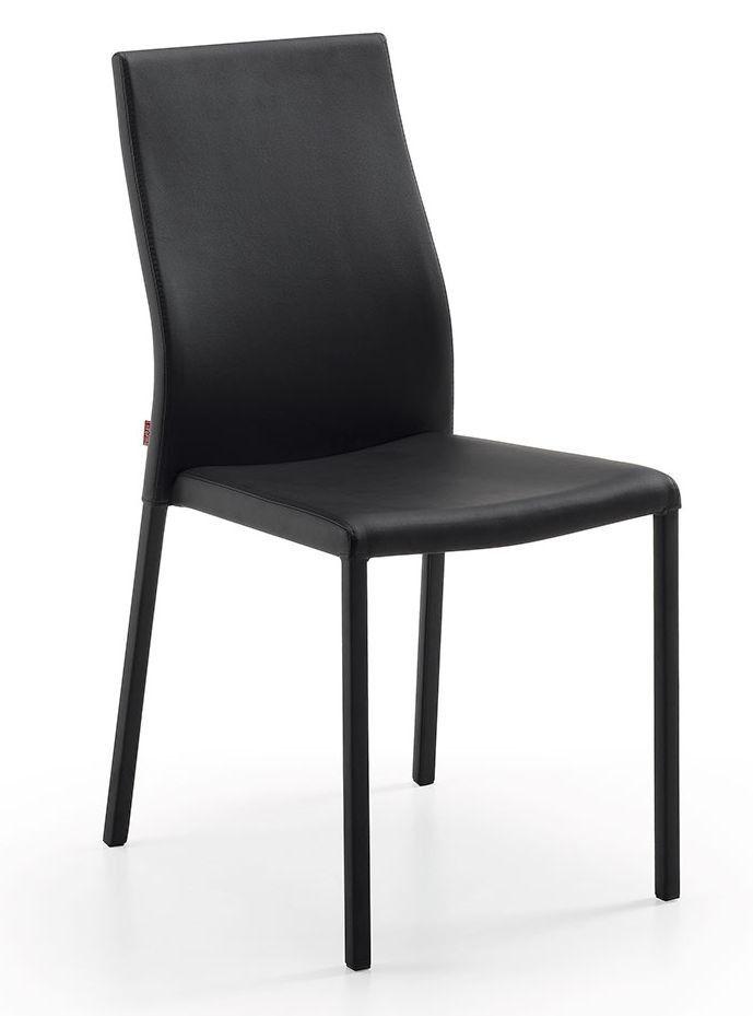 Abelle stoel - Kave - zwart