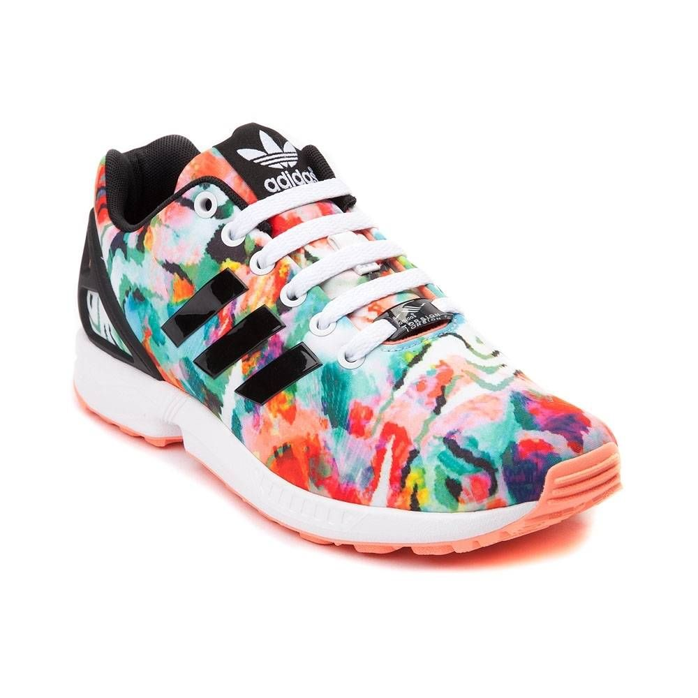 3cfbefb1f08a1 Womens adidas ZX Flux Athletic Shoe - Multi - 436181