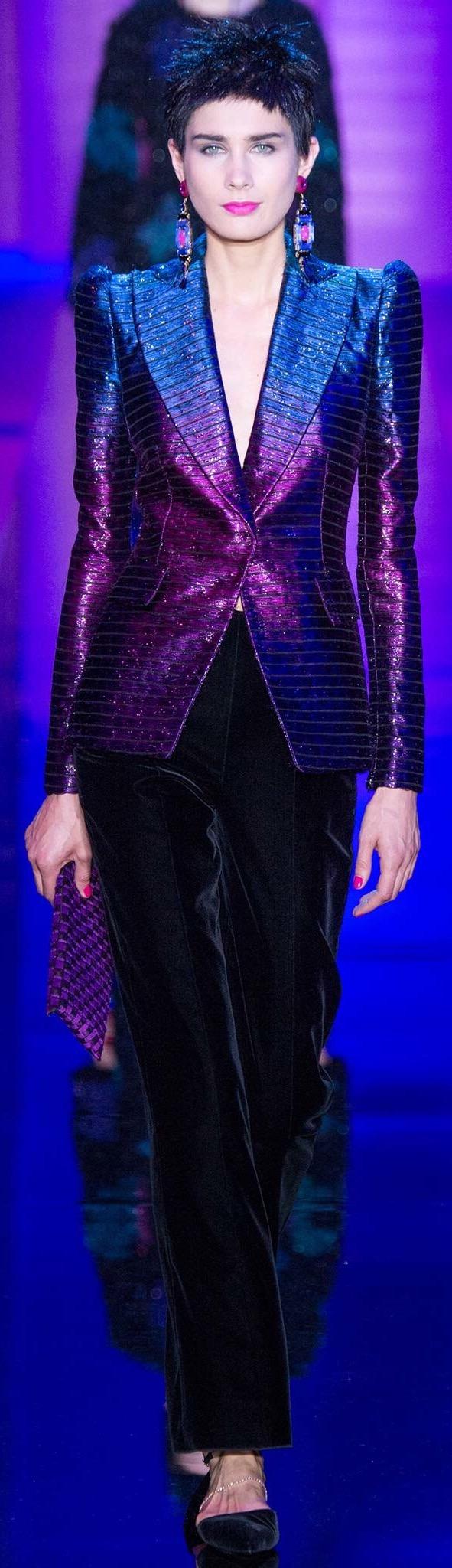 Armani Privé, fall 2015 Couture