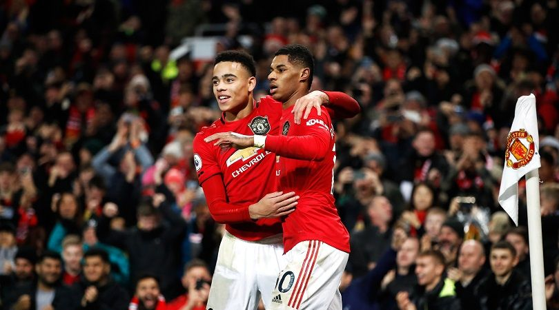Marcus Rashford Is My Role Model At Manchester United Says Mason Greenwood Fourfourtwocatch All Of The Action With Numedi In 2020 Greenwood Marcus Rashford Role Models