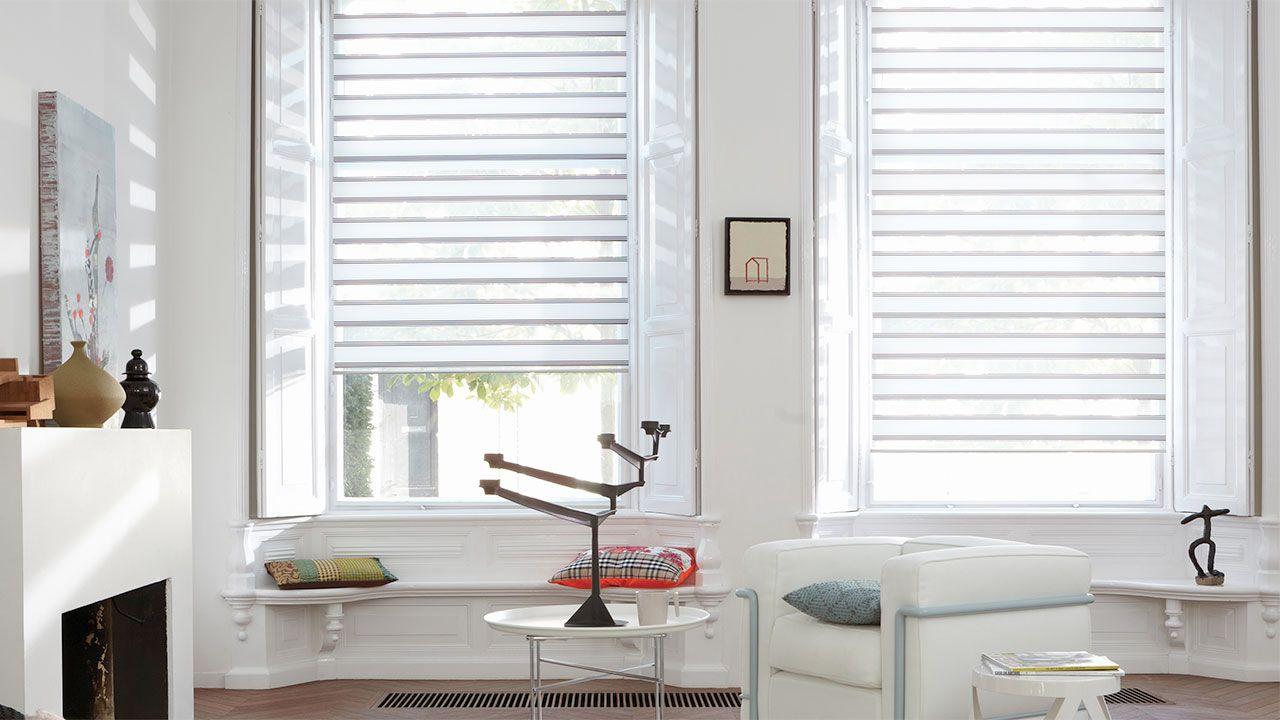 Laat u inspireren door luxaflex raamdecoratie twist rolgordijnen