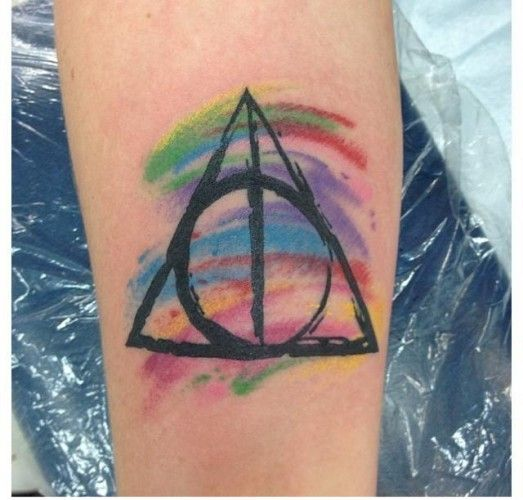 Deathly Hallows Symbol Harry Potter Source Brittany Freitas