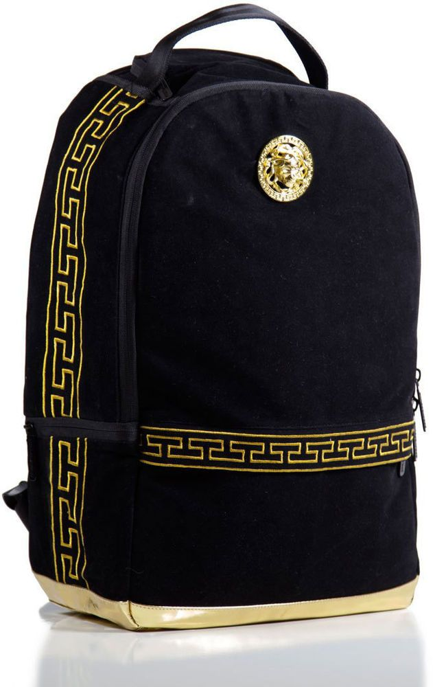 71be8a869375 Sprayground - Spercase Velvet Backpack - Black  Sprayground  Backpack