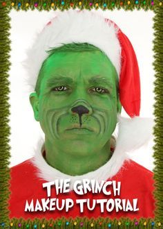 The Grinch Makeup Tutorial A Christmas