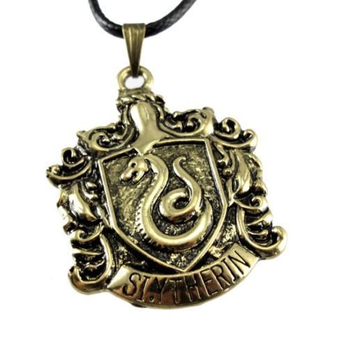 $9.99 Jewellery Harry Potter Magic Witchcraft Slytherin Badge Pendant Necklace