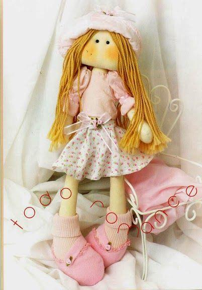 Revista gratis muñecas de tela - Revistas de manualidades Gratis