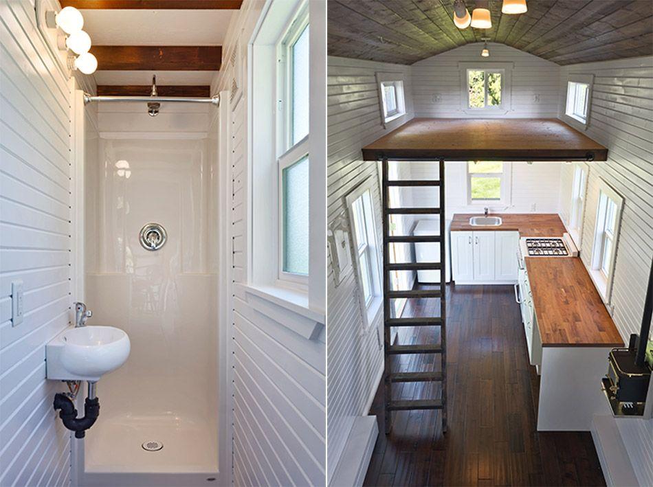 Loft Edition By Mint Tiny Homes Tiny Living Tiny House Bathroom House Bathroom Tiny House Loft
