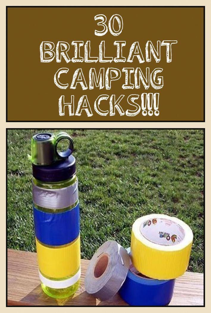 30 Brilliant camping hacks you need to check now! #camping ...