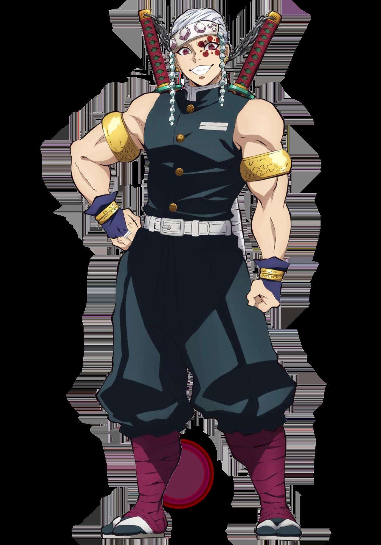 Tengen Uzui Kimetsu No Yaiba Wikia Fandom Anime Demon Slayer Anime Anime Characters