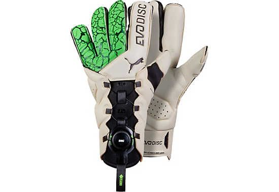 6dab562ae Puma evoDisc Goalkeeper Gloves – Green Gecko/Puma White | Goalie ...
