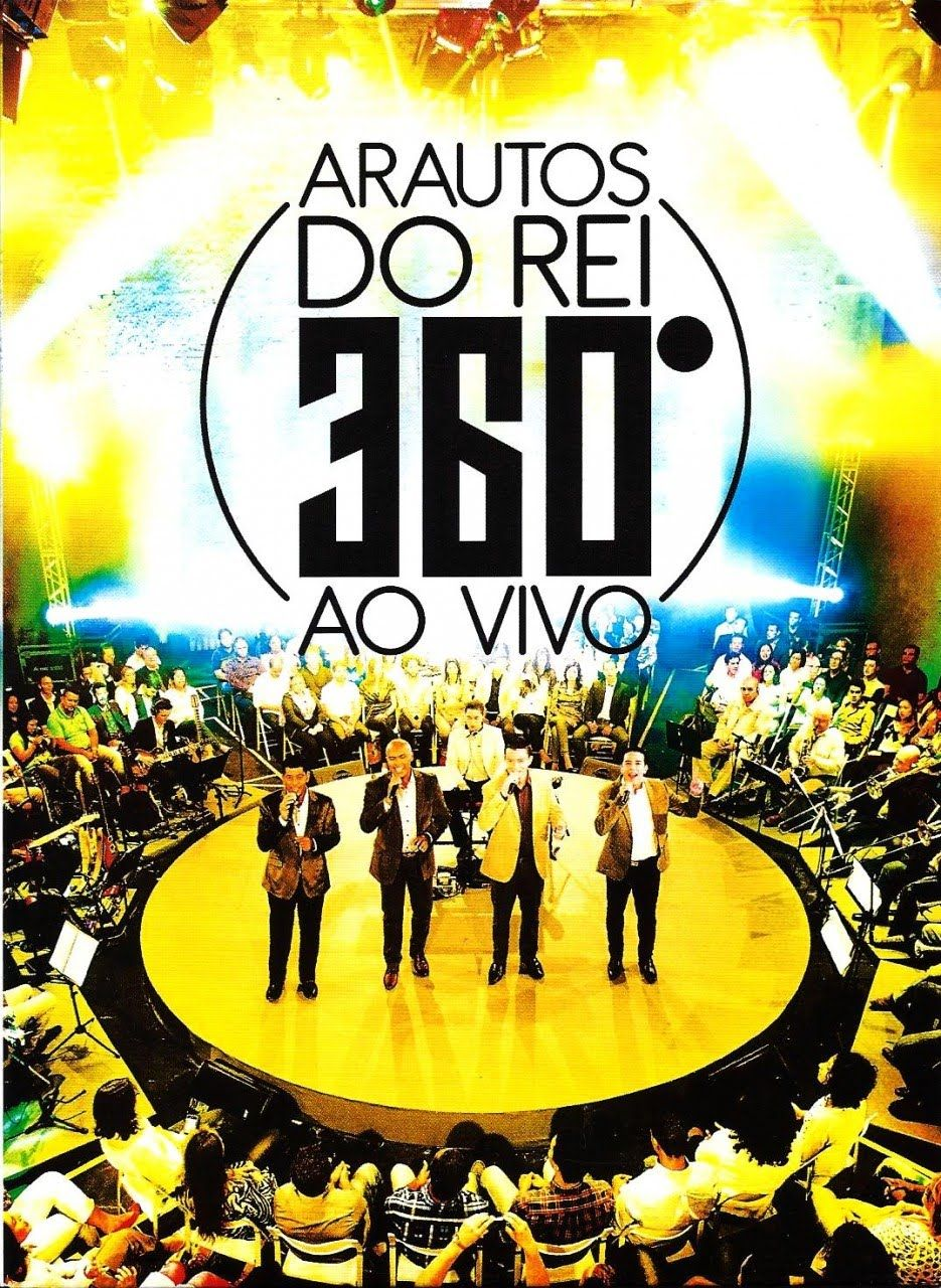 Dvd Arautos Do Rei 360 Completo Arautos Do Rei