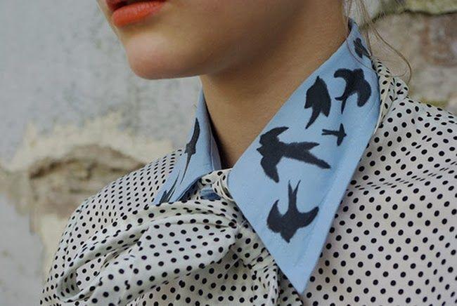 DIY: Cómo hacer un falso cuello de camisa